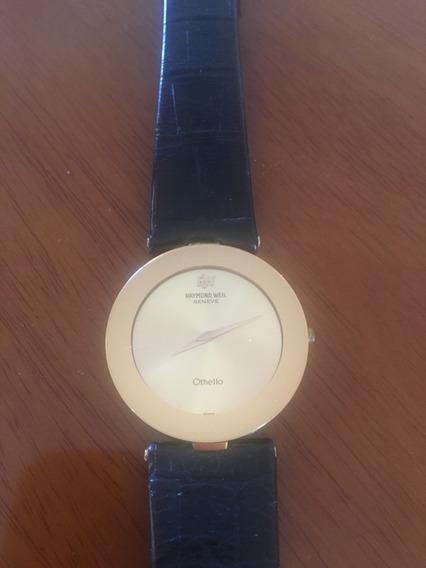 Relógio De Ouro 18k Raymond Well