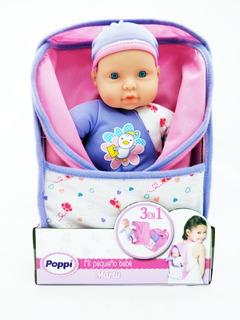 Juguete Muñeca Bebe Poppi Mi Pequeño Bebe Babymovil 16003