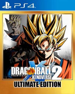 Dragon Ball Xenoverse 2 Ultimate Edition Ps4 Digital Gcp