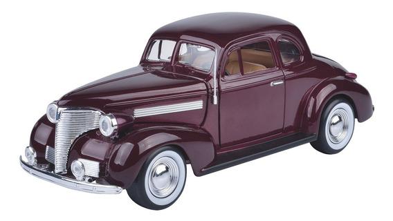 Auto Chevrolet Coupe 1939 Esc 1/24 Colección Motormax