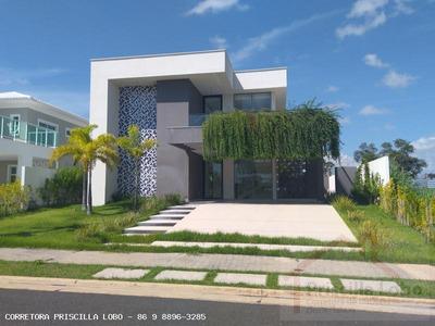 Casa Em Condomínio Para Venda Em Teresina, Gurupi, 5 Dormitórios, 5 Suítes, 6 Banheiros, 4 Vagas - 0180