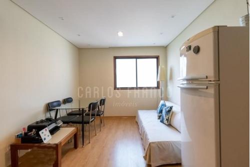Imagem 1 de 15 de 1 Dormitório - 1 Vaga - Jardim Paulista - Cf66706