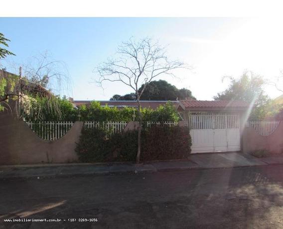Casa Para Venda Em Pirapozinho, Jardim Das Flores, 2 Dormitórios, 1 Suíte, 1 Banheiro, 3 Vagas - 10187