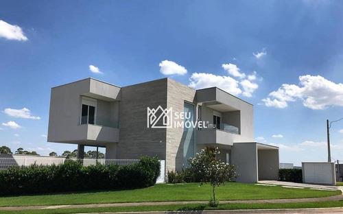 Imagem 1 de 22 de Casa Com 4 Dormitórios À Venda, 355 M² Por R$ 2.100.000,00 - Condomínio Central Parque - Salto/sp - Ca1534