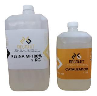 Resina Epoxica Transparente Mp100% 3kg