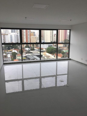 Sala Para Alugar, 41 M² Por R$ 2.000/mês - Vila Guiomar - Santo André/sp - Sa0514