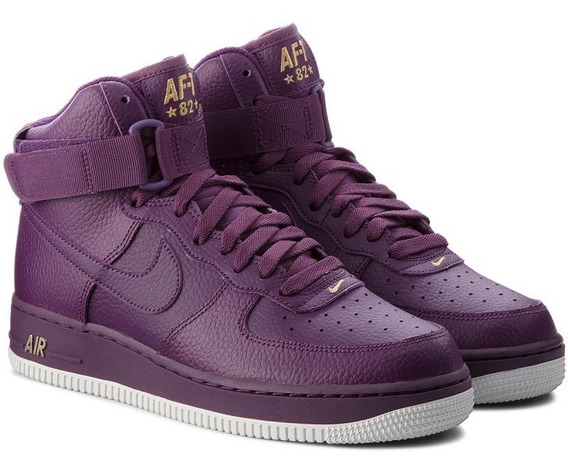 Zapatillas Nike Air Force 1 High 07 Night Purple Basquet Pro