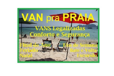 Aluguel De Van Conforto E Segurança - Praia Litoral Interior