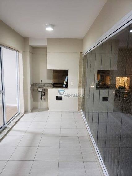 Apartamento Com 3 Dormitórios À Venda, 110 M² Por R$ 635.000,00 - Alphaville - Santana De Parnaíba/sp - Ap1757