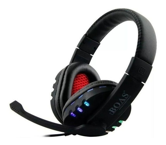 Headset Gamer Microfone Bq 9700 Usb Pc 7.1 Led Boas 546