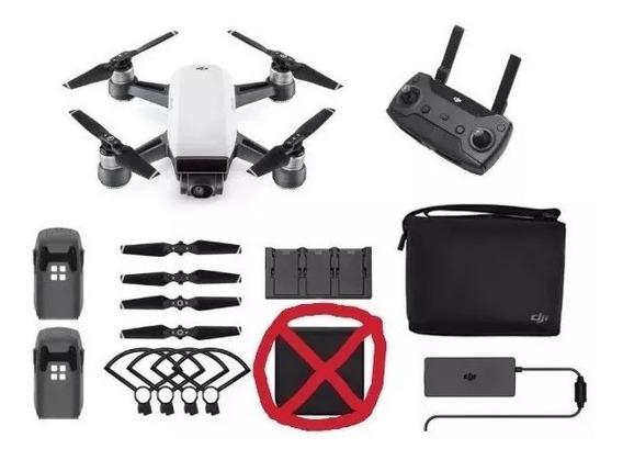 Drone Dji Spark Fly More Combo Branco/cinza