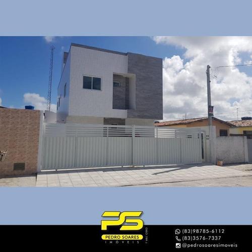 Apartamento Com 2 Dormitórios À Venda, 43 M² Por R$ 127.000 - Mangabeira - João Pessoa/pb - Ap4278