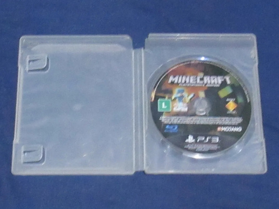 Kit Jogos Minecraft + Naruto Ultimate Ninja Storm - Ps3