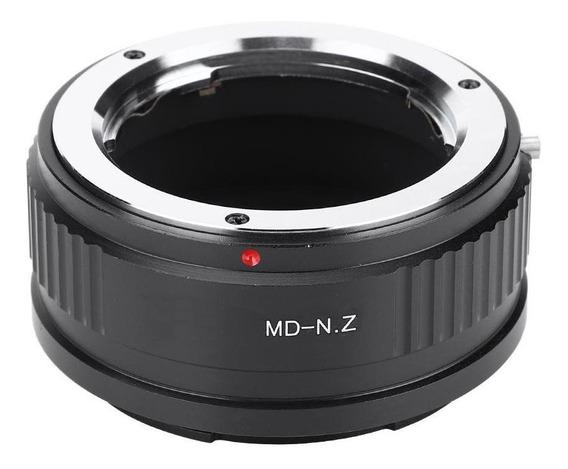 Md-n.z Para Minolta Md Mc Mount Lens Para Câmera Full Frame