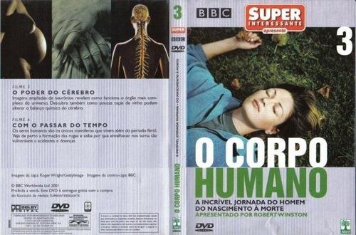 Imagem 1 de 5 de Dvd O Corpo Humano 3 A Incrível Jornada Do Homem