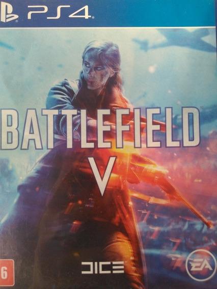 Battlefield V Ps4 Original, Mídia Física , A Pronta Entrega