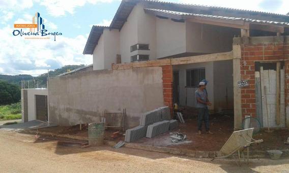 Casa Com 3 Dormitórios À Venda, 160 M² Por R$ 320.000,00 - Residencial Rio Jordão - Anápolis/go - Ca1177