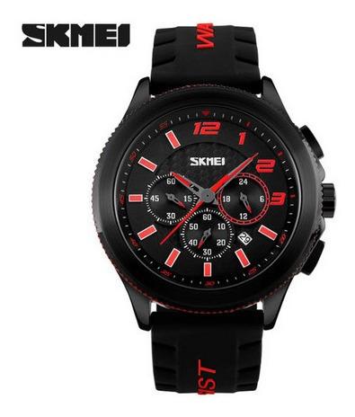 Relógio Masculino Esporte Skmeii 9136 Original Prova Dágua