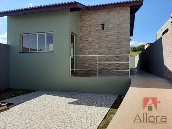 Casa Com 2 Dormitórios À Venda, 75 M² Por R$ 280.000 - Centro - Joanópolis/sp - Ca1069