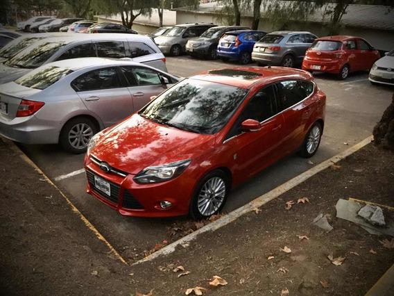 Ford Focus 2014 Hatchback Rojo Trend Sport 2.0 Automático