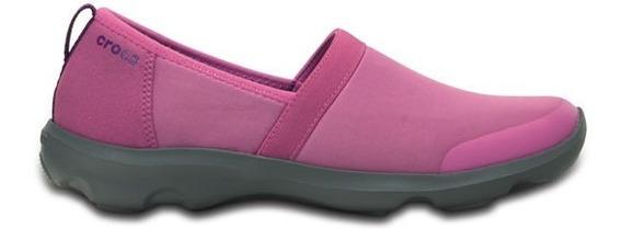 Zapato Crocs Dama Duet Busy Day 2.0 Heather Rosa