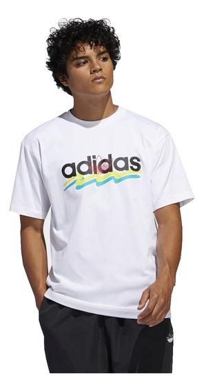 Remera adidas Originals Brush Stroke T Fm1556 Hombre-fm1556