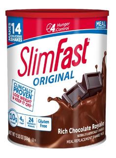 Slim Fast Original Chocolate Royale 364gr