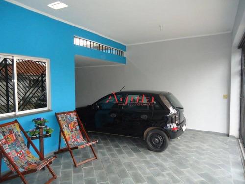 Imagem 1 de 25 de Sobrado Com 2 Dormitórios À Venda, 133 M² Por R$ 530.000 - Jardim Santo Alberto - Santo André/sp - So1030