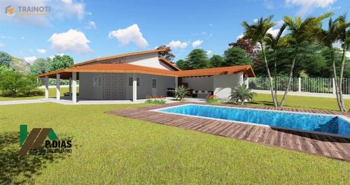 Chácara Na Planta, Ótima Oportunidade Para Quem Busca Uma Casa De Campo Na Região Circuito Das Águas - Ch0240