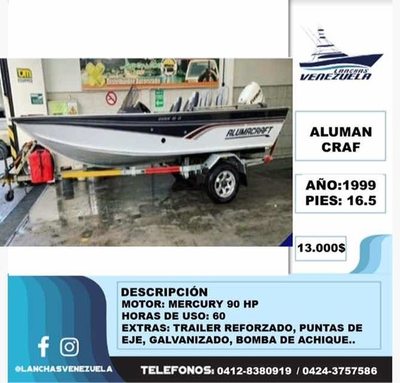 Lancha Aluman Craf Lv160