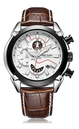 Relógios Masculino Megir Casual De Luxo Militar Original