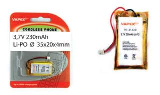 Baterias Recargables Mp3 Mp4 iPod 3,7v 230mah Vapex