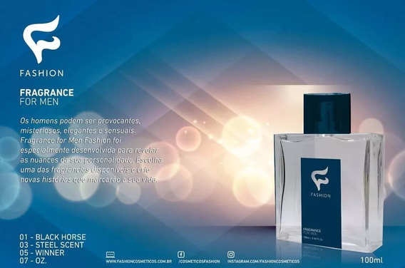 24 Perfumes Masculinos Fashion Atacado