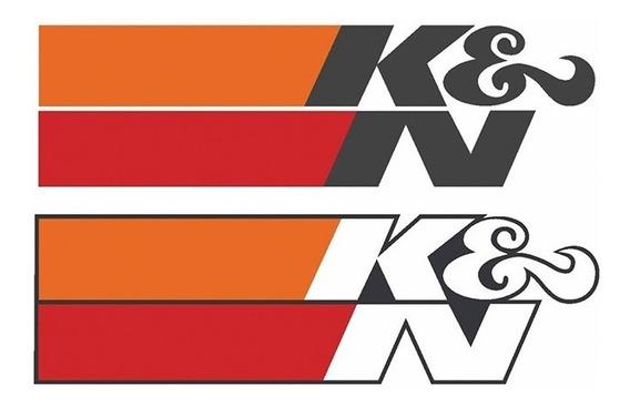 Adesivo K&n Kn Oficial (importado)