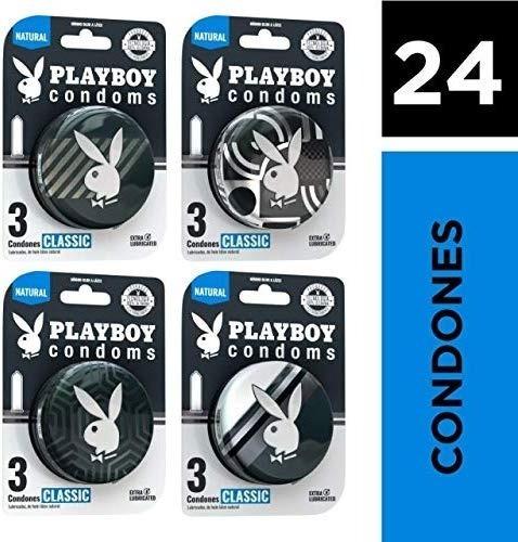 Playboy Condoms 24 Condones Clásico Colección 2020