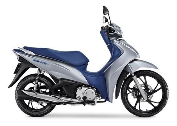 Honda Biz 125 - Prata Metálico 0km Sem Entrada