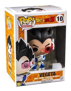 Funko Pop Vegeta #10 Con Scouter Dragon Ball Jugueterialeon