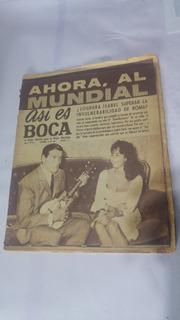 Asi Es Boca 541 Antonio Roma E Isabel Sarli En Tapa