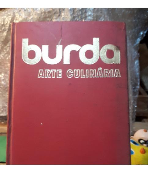Livro Burda Arte Culinária - Heloisa De Faria Antigo Raro