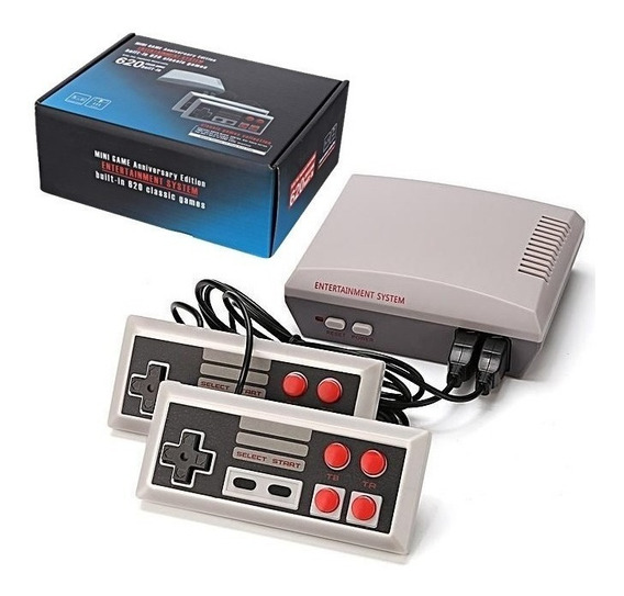 Video Game Super Mini Retrô 2 Controles 620 Jogos Nostalgia
