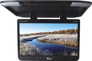 Tview T257ir-bk Wide Screen Flip Down Monitor - Negro