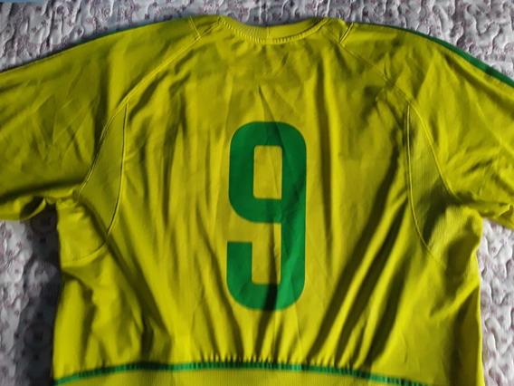Camisa Seleção Brasileira 2002 Original Nike G Fotos Reais