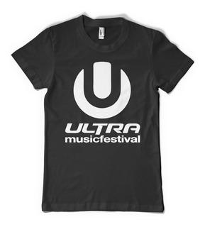 Ultra Music Festival Remera Dj Color Animal