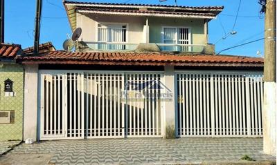 Casa Com 2 Dormitórios À Venda, 79 M² Por R$ 240.000 - Vila Mirim - Praia Grande/sp - Ca0577