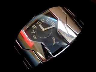 Reloj Puma En Acero, Unisex, Quartz, Impecable.