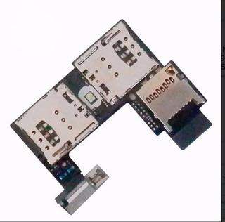 Slot Chip Sim Moto G2 Xt1068 Xt1069 Leitor Cartão Micro Sd