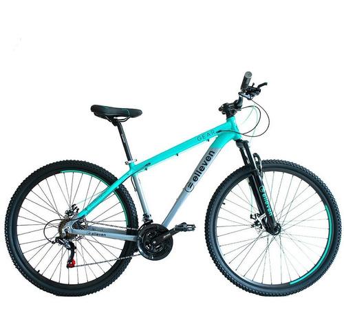 Imagem 1 de 3 de Bicicleta Elleven Gear Aro 29 21  21v Shimano Disco Turq/cz