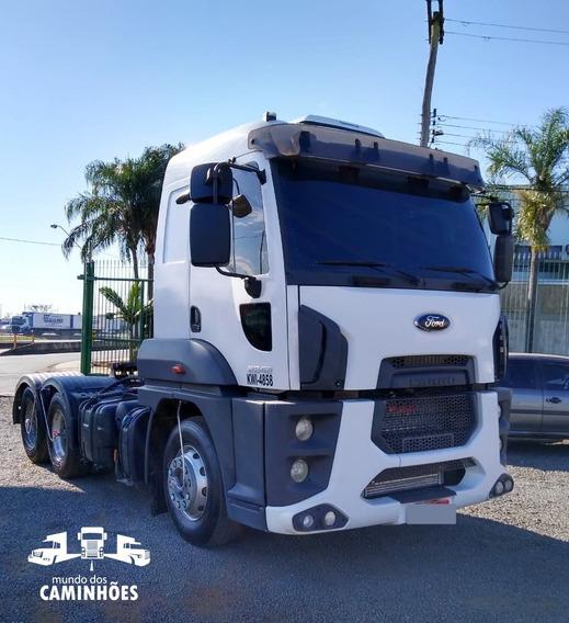 Ford Cargo 2842 6x2 Automático Com Apenas 157 Mil Km