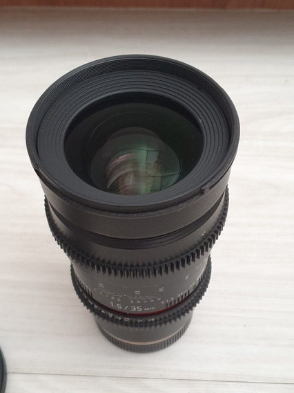 Rokinon 35mm T1.5 Cine Ds Lens For Sony E-mount