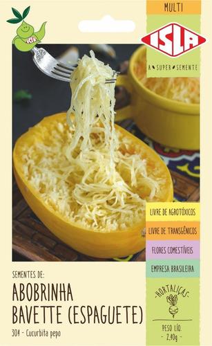 Sementes De Abobrinha Bavette (espaguete)